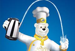 美的电热水壶广告