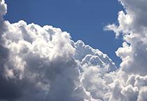蓝天白云高清大图