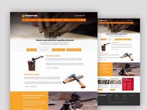 手工艺体验工作室网站设计模板