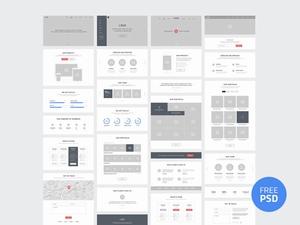 一个网站的整站页面框架设计