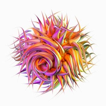 三维渲染细菌病毒微生物免抠png高清图
