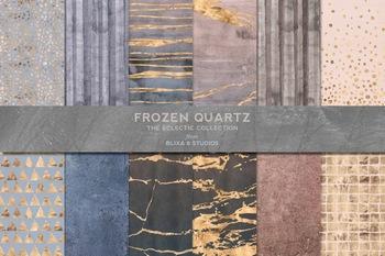 冷冻石英大理石斑驳质感底纹背景图