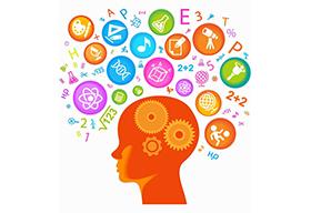 孩子的大脑兴趣爱好概念图