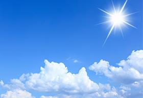 蓝天白云阳光