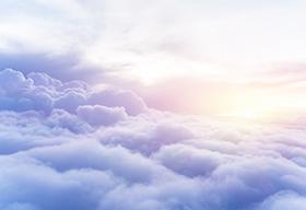 高空中的云海