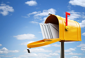 黄色的信箱